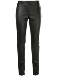 Tom Ford Leather Leggings Black