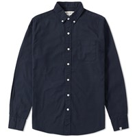 Vanquish Button Down Oxford Shirt Blue