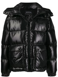 Duvetica Hooded Puffer Jacket Black