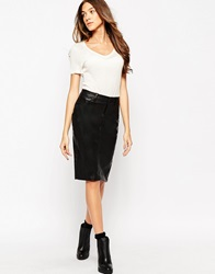 Blank Nyc Denim Midi Skirt Pussycat