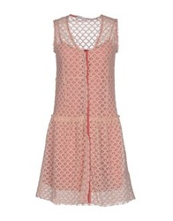 Fairly Short Dresses Light Pink