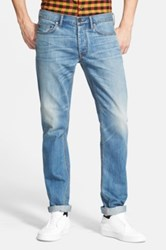 Marc By Marc Jacobs 'Mj 110' Straight Leg Jeans Blue