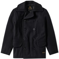 Neighborhood Wool Peacoat Black