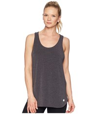 Asics Flex Tank Top Performance Black Heather Sleeveless Gray