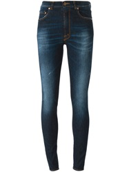 People People Skinny Jeans Blue