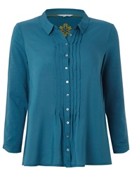 White Stuff Lilly Jersey Shirt Teal