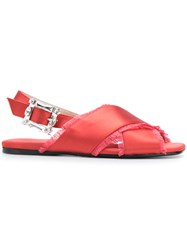 Anna Baiguera Ave Sandals Red