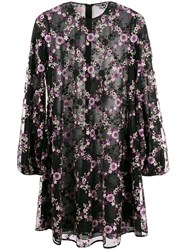 Giamba Embroidered Floral Mesh Dress 60