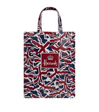 Harrods Medium Vintage Flag Shopper Bag Unisex