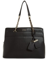 Guess Katiana Girlfriend Satchel A Macy's Exclusive Style Black