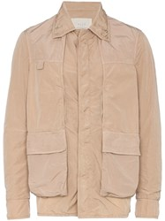 Alyx Multipocket Shirt Jacket Nude And Neutrals