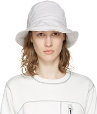 And Wander Off White Bucket Hat