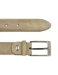 Manieri Men's Beige Suede Belt