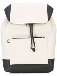 Coach Manhattan Backpack White