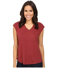 Joe's Jeans Lennox Tee Ruby Women's T Shirt Red
