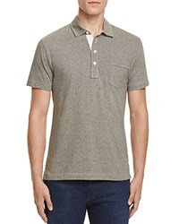 Billy Reid Pensacola Regular Fit Polo Olive