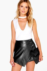 Boohoo Choker Neck Plunge Top Ivory