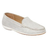 Lotus Conforti Shimmer Loafers Silver