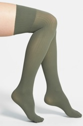 Oroblu 'Parigina Lysette' Over The Knee Socks Green