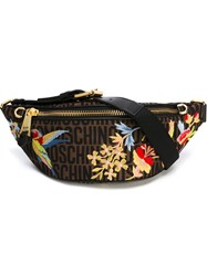 Moschino Embroidered Bumbag Multicolour