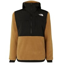 The North Face Denali Panelled Fleece And Shell Jacket Brown