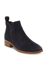 Dolce Vita Tessey Slip On Ankle Booties Navy Blue