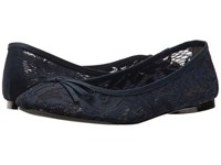 Adrianna Papell Sage Navy Sophie Lace Women's Flat Shoes
