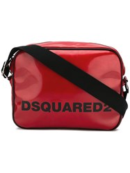 Dsquared2 Logo Print Messenger Bag