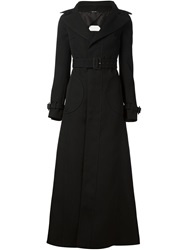 Maison Martin Margiela Maison Margiela Flared Trench Coat Black