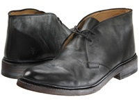 Frye James Chukka Black Antique Pull Up Men's Lace Up Boots