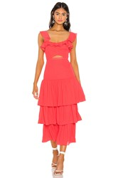Likely Rosie Dress Red