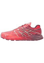 The North Face Ultra Endurance Trail Running Shoes Cayenne Red Tropical Peach Light Red