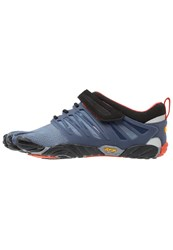 Vibram Fivefingers Vtrain Sports Shoes Indigo Black Blue Dark Blue
