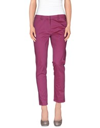 Manuel Ritz Trousers Casual Trousers Women Light Purple
