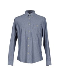 Nn.07 Nn07 Shirts Shirts Men Slate Blue