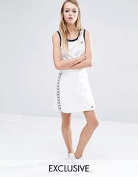 Fred Perry Archive Wrap Skirt White