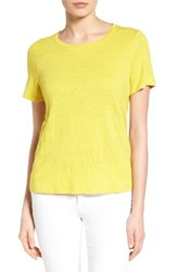 Eileen Fisher Women's Organic Linen Tee Yarrow