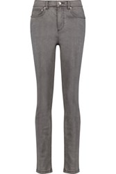 Marc By Marc Jacobs Ella High Rise Skinny Jeans Gray