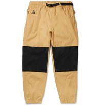 Nike Acg Trail Panelled Ripstop Trousers Black