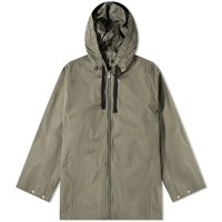 Mhl By Margaret Howell Mhl. Zip Up Anorak Green