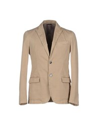 Royal Hem Suits And Jackets Blazers Men Beige