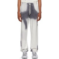 Off White Grey Spray Lounge Pants