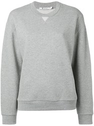 Alexander Wang T By Classic Sweatshirt Grey