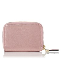 Lk Bennett L.K. Kendra Card And Coin Purses Dark Pink