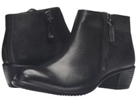 Ecco Touch 35 Bootie Black Black Cow Leather Women's Boots