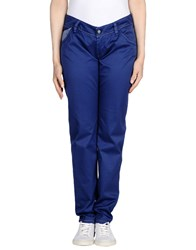 Re Hash Casual Pants Bright Blue