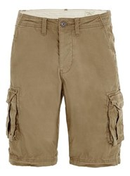 Selected Homme Brown Cargo Shorts