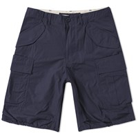 Beams Plus Military Cargo Shorts Blue