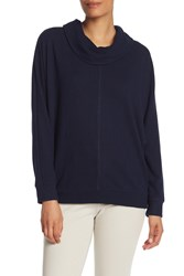 Vince Camuto Solid Cowl Neck Dolman Sweater Classic Na