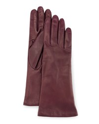 Portolano Napa Leather Gloves Dark Purple